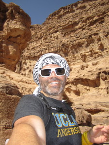 Chris at Petra