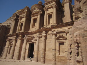 The Monastery at Petra in Jordan